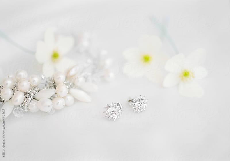 Bridal Earrings by Milles Studio for Stocksy United