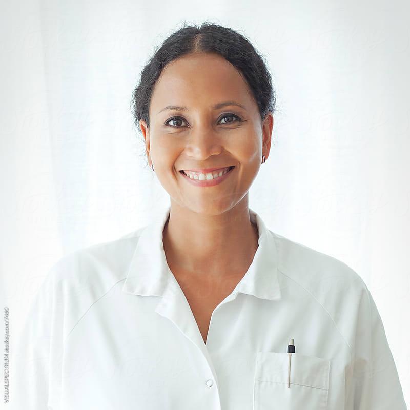 Female Doctor by Julien L. Balmer for Stocksy United