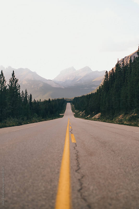 Jasper Park Road by Jake Elko for Stocksy United