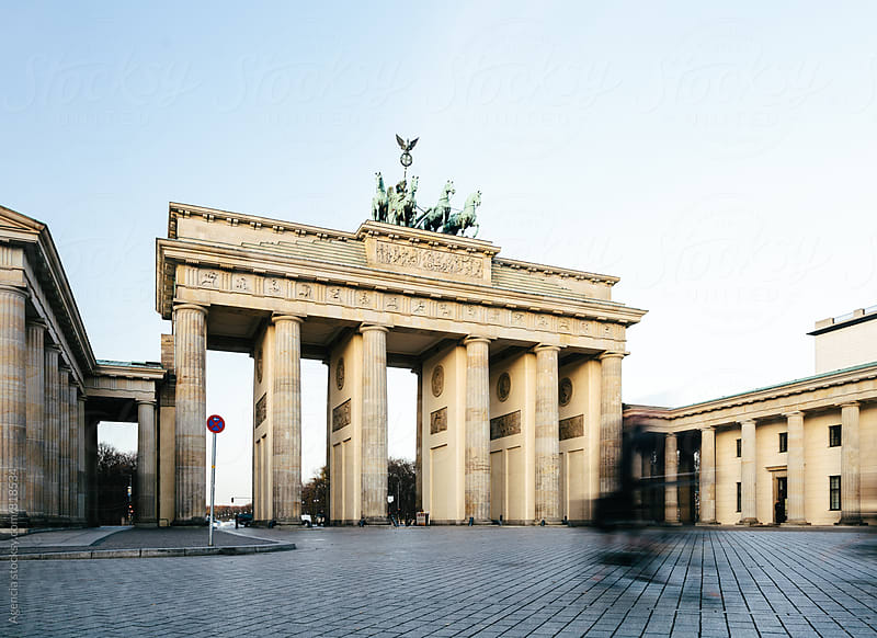 Brandenburg Gate by Agencia for Stocksy United