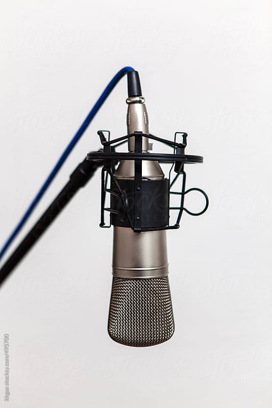 Condenser Microphone  by kkgas for Stocksy United
