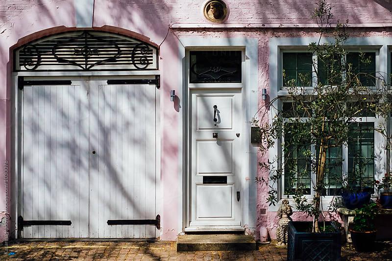 Pastel London House by Katarina Radovic for Stocksy United