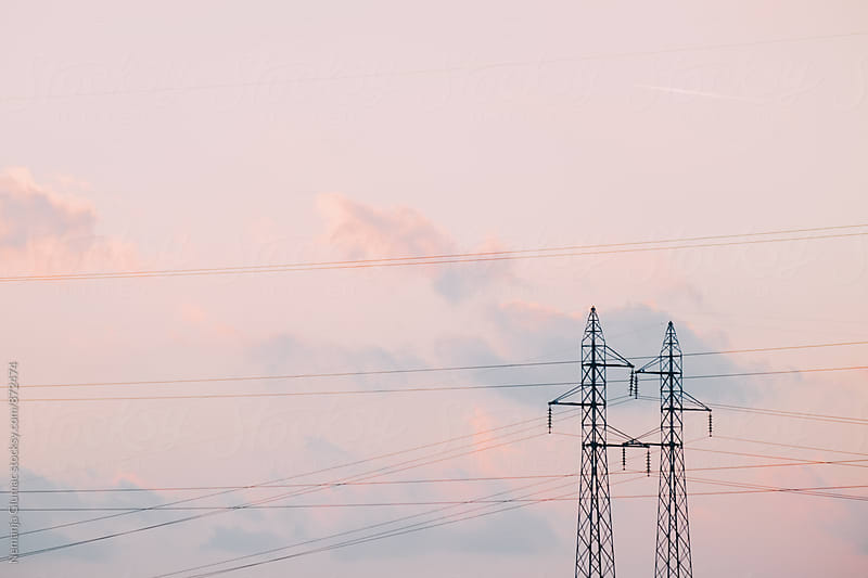Power Lines by Nemanja Glumac for Stocksy United