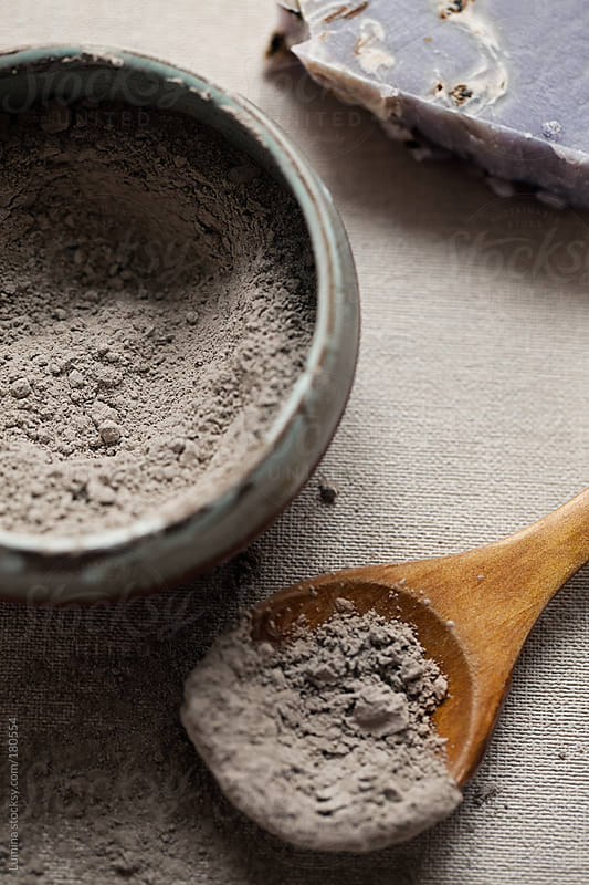 Gray Clay Powder by Lumina for Stocksy United