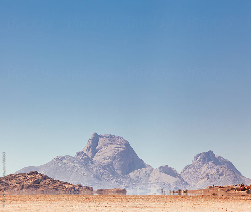 Spitzkoppe desert mountains, Namibia by Micky Wiswedel for Stocksy United