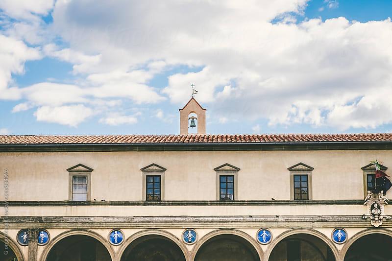 Ospedale degli Innocenti, Renaissance Architecture in Florence by Giorgio Magini for Stocksy United