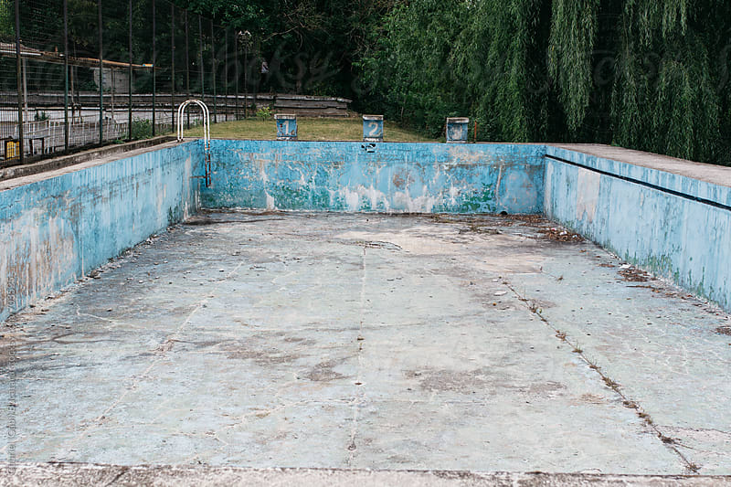 Decayed swimming pool by Gabriel (Gabi) Bucataru for Stocksy United