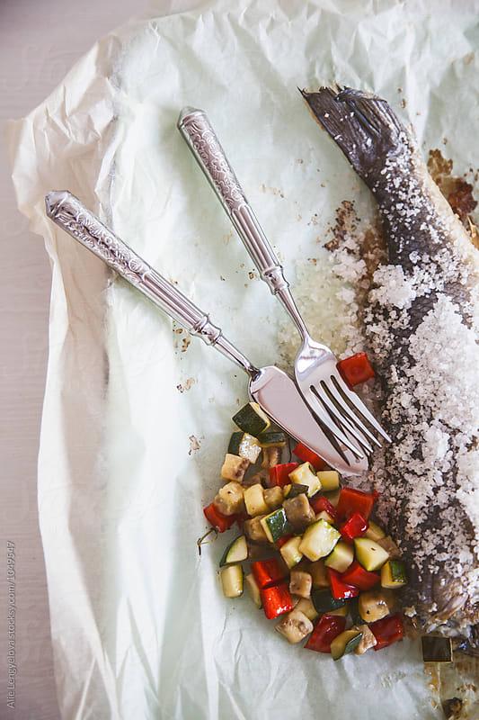Healthy Dinner Time by Alie Lengyelova for Stocksy United
