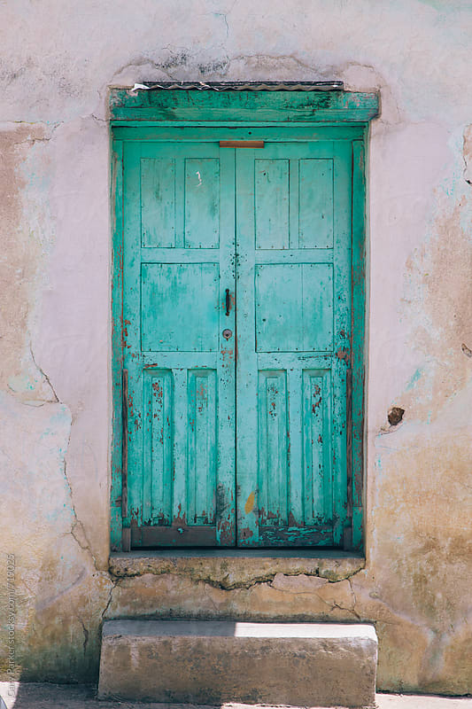The Aqua Door by Gary Parker for Stocksy United