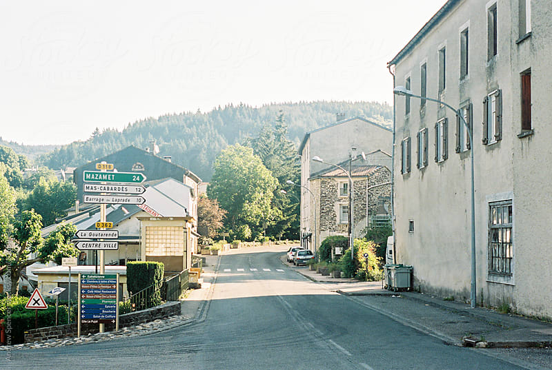 A Street in France by Andrew Spencer for Stocksy United