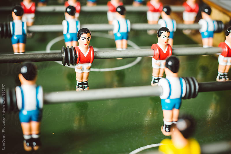 Foosball by Ryan Dearth Photography for Stocksy United