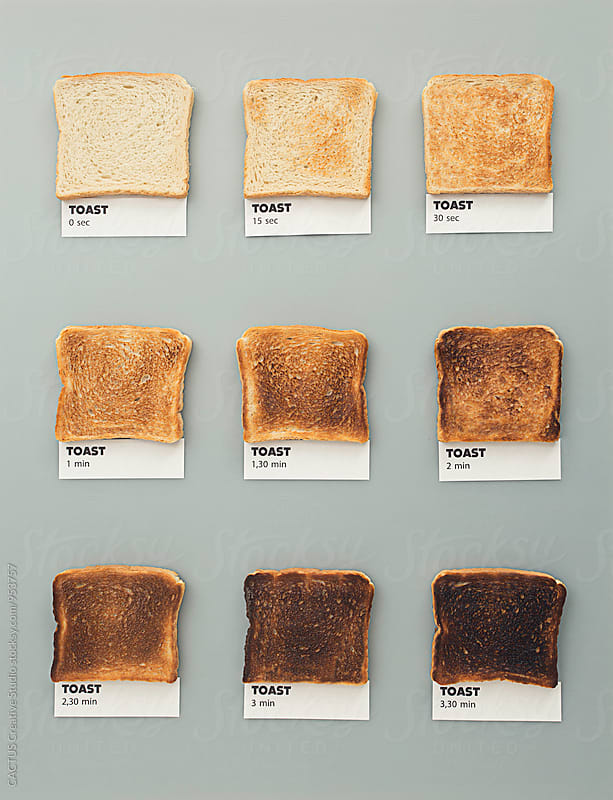 Toast colors by Blai Baules for Stocksy United