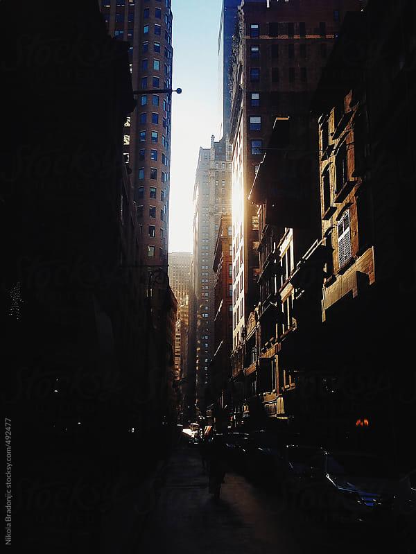 Financial District, Manhattan by Nikola Bradonjic for Stocksy United