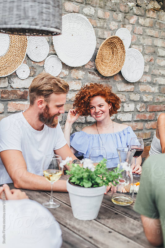 Wine and Good Friends by Studio Firma for Stocksy United