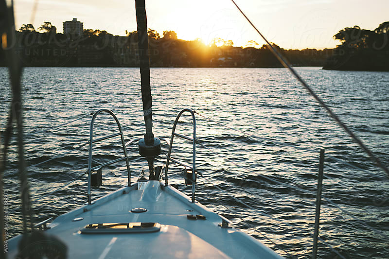 Sailing at Sunset by WAA for Stocksy United