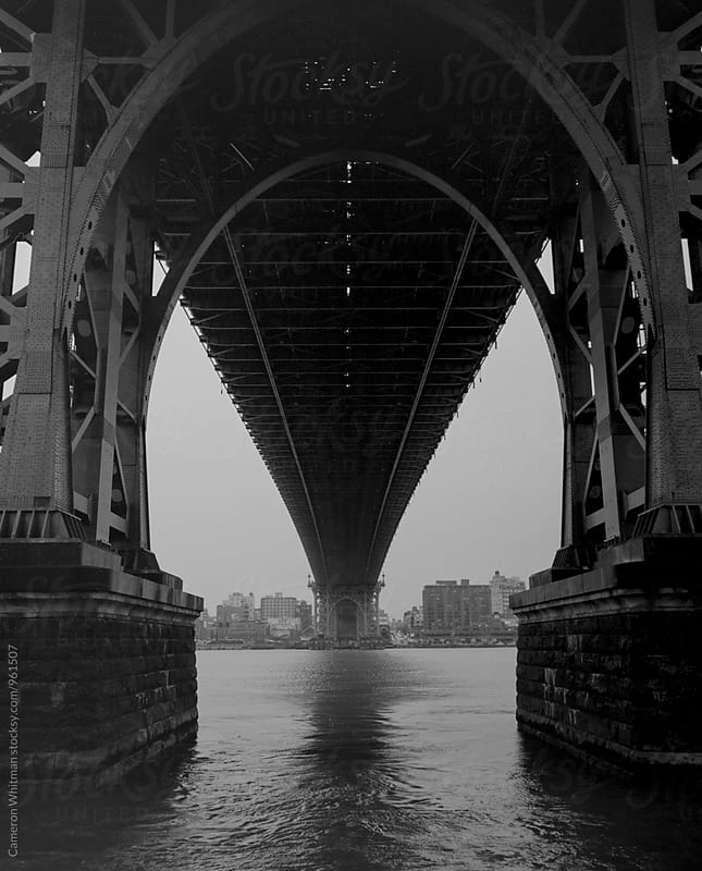 Williamsburg Bridge, NYC by Cameron Whitman for Stocksy United