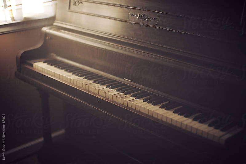 Old Upright Piano by Kevin Russ for Stocksy United