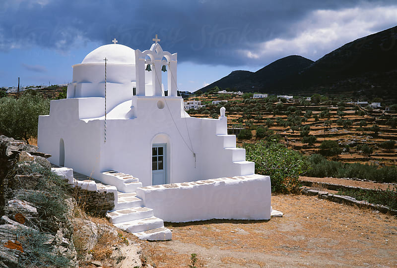 Greek Church by Skyler Dahan for Stocksy United