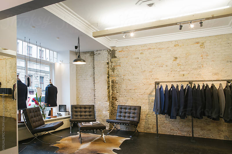 Men's Fashion - Stylish Store Interior by VISUALSPECTRUM for Stocksy United
