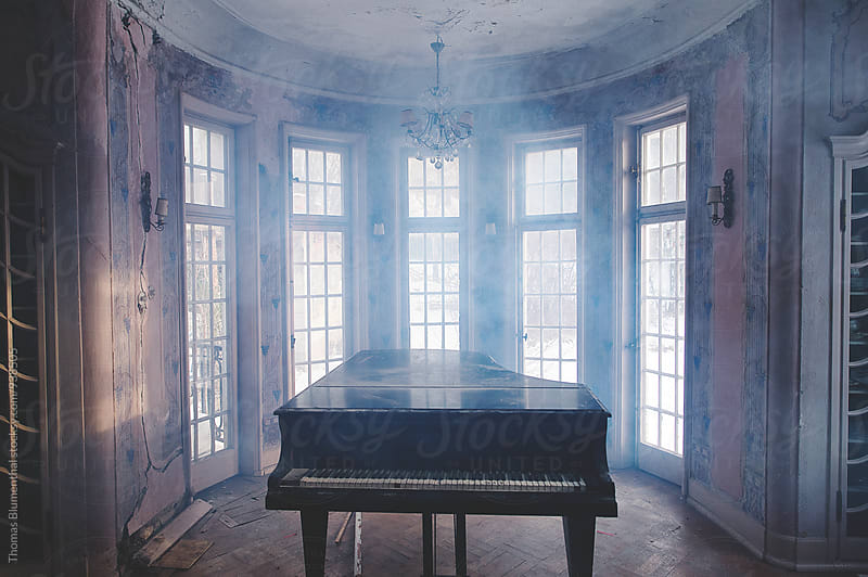 Forgotten Piano by Thomas Blumenthal for Stocksy United