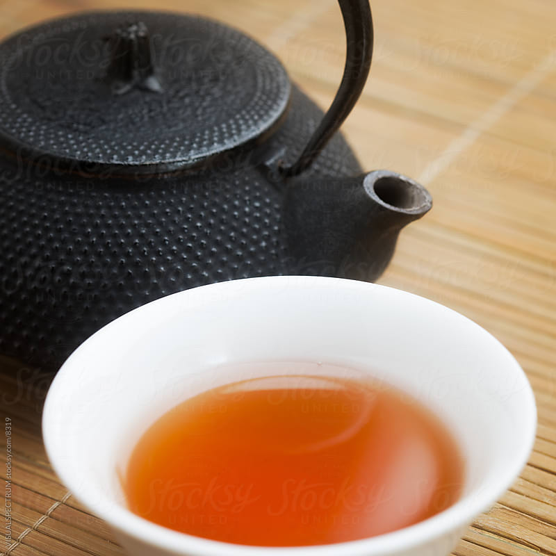 Cup of Pu-Erh Tea by VISUALSPECTRUM for Stocksy United