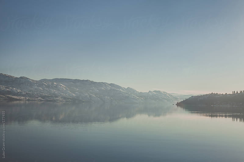 Okanagan Lake by Luke Gram for Stocksy United