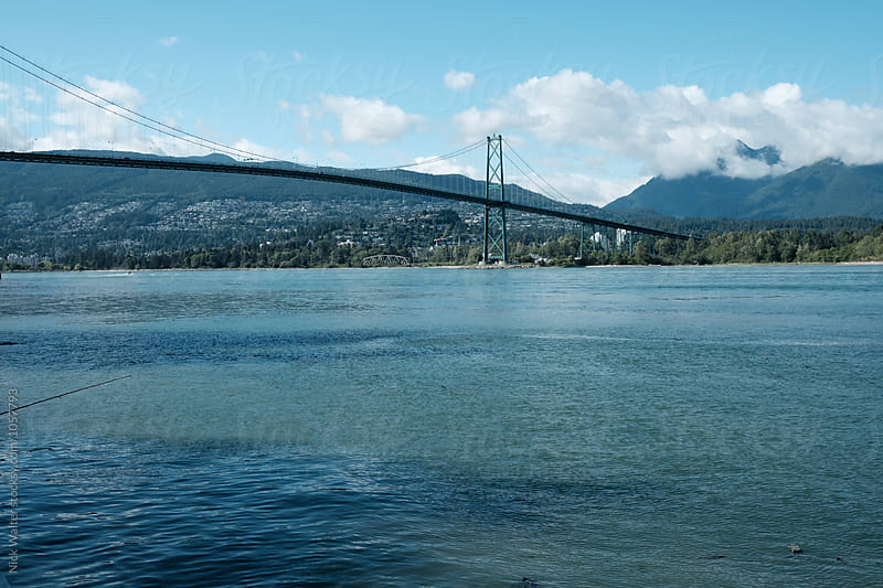 Lionsgate Bridge, Vancouver BC by Nick Walter for Stocksy United
