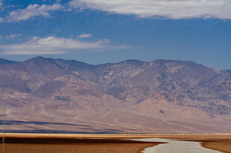 Death Valley mountains and lowlands by Gary Parker for Stocksy United