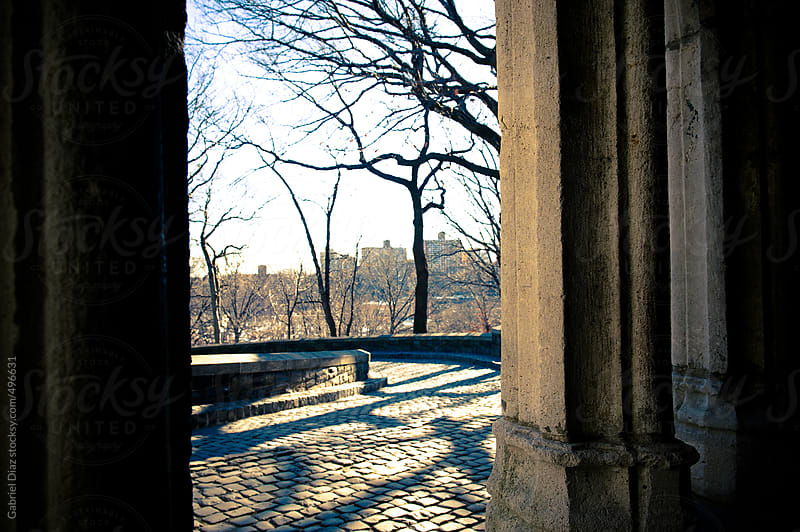 View from the Cloisters, New York City by Gabriel Diaz for Stocksy United