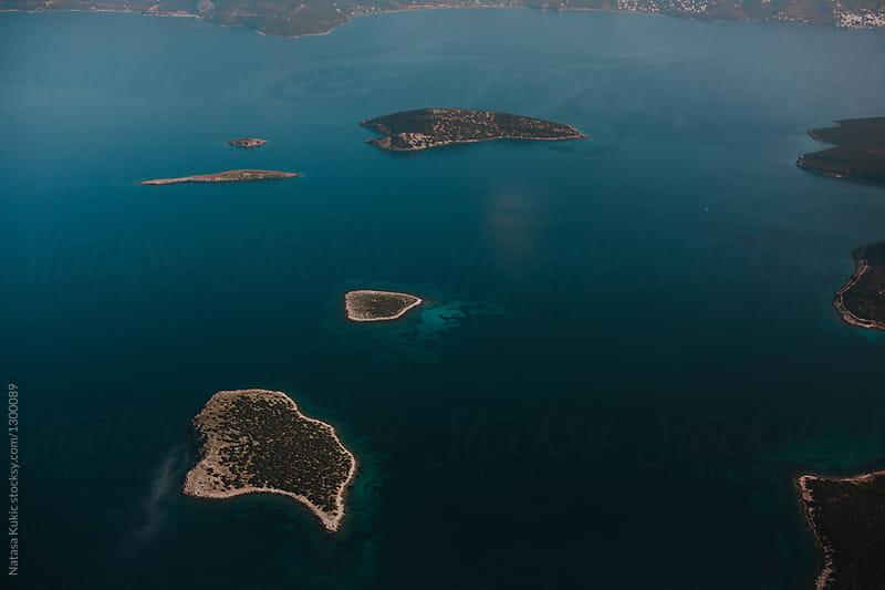 Skies above Aegean sea,Greece
