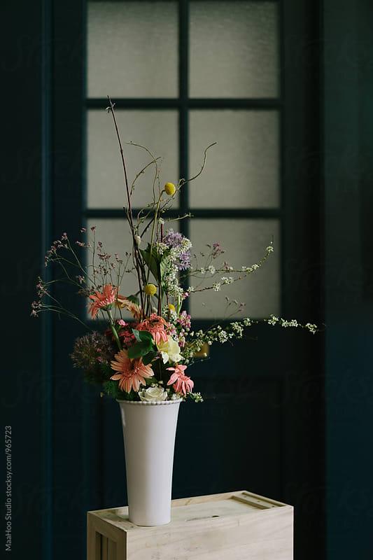 Bunch of flowers in vase by MaaHoo Studio for Stocksy United