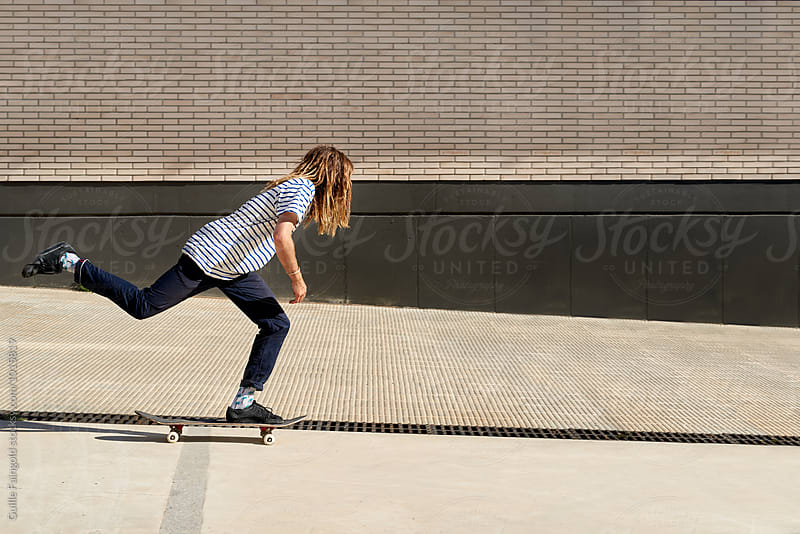 skater by Guille Faingold for Stocksy United