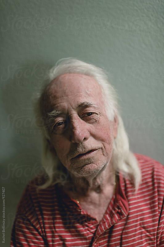 Portrait of an older man by Rachel Bellinsky for Stocksy United