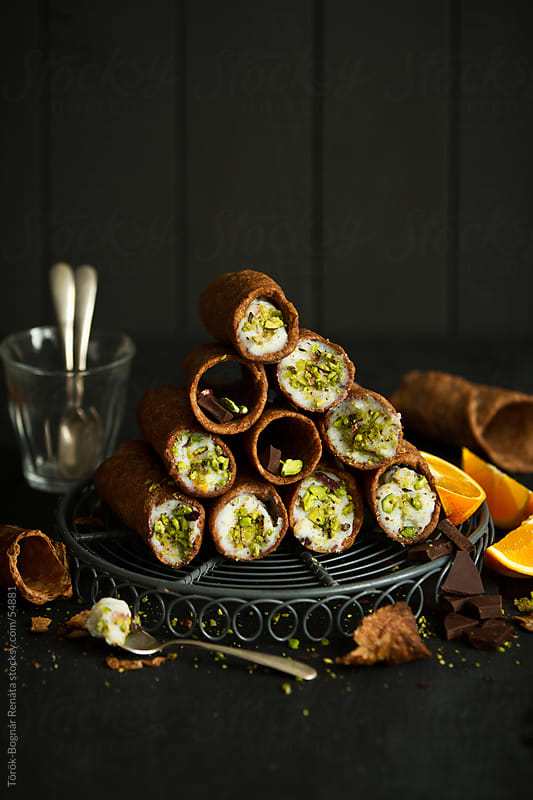 Cannoli siciliani by Török-Bognár Renáta for Stocksy United