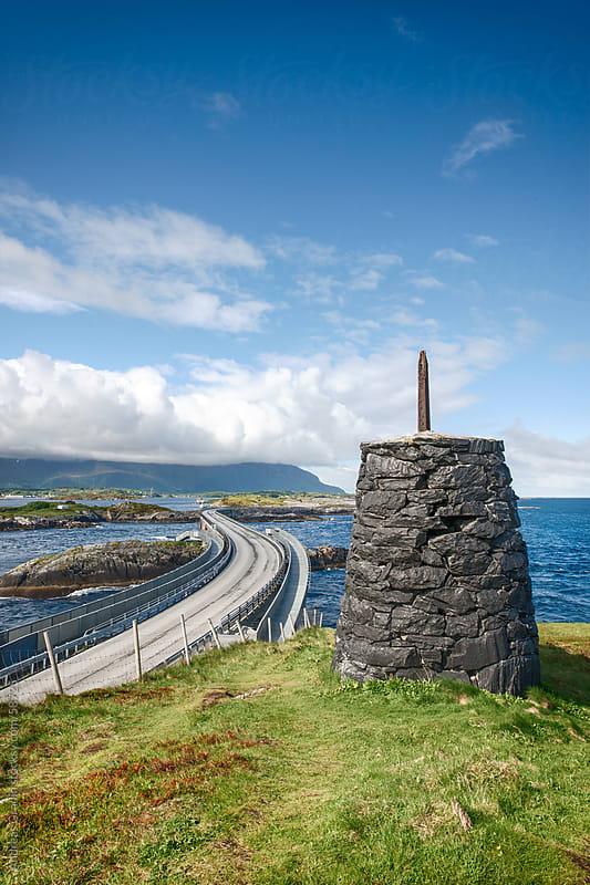 Atlantic  Ocean Road in Norway by Andreas Gradin for Stocksy United