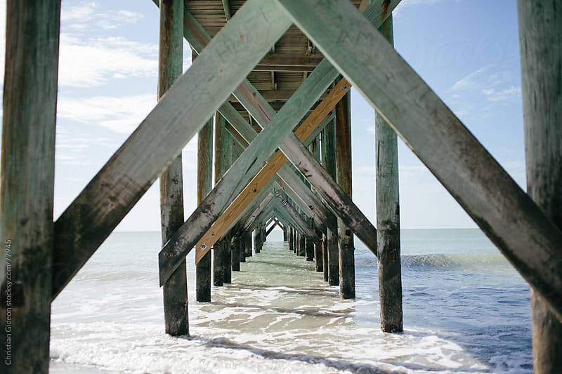 Ocean Pier by Christian Gideon for Stocksy United