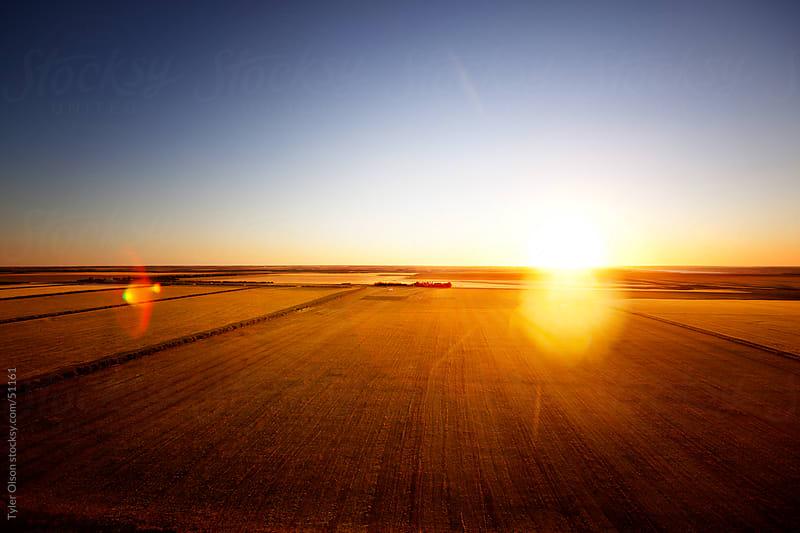 Saskatchewan Prairie Landscape by Tyler Olson for Stocksy United
