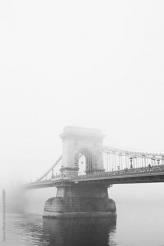 Chain Bridge, Budapest by Jovana Rikalo for Stocksy United