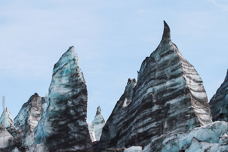 Alaska glacier by Cameron Zegers for Stocksy United