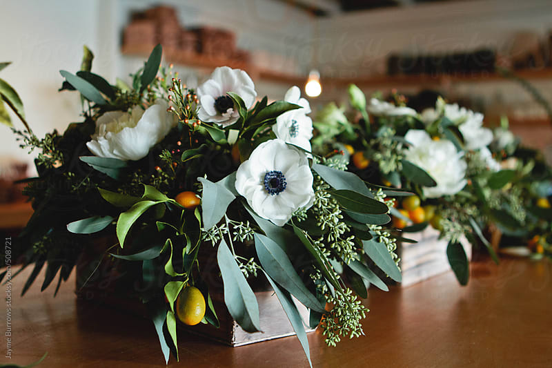 Modern Flower Arrangements by Jayme Burrows for Stocksy United