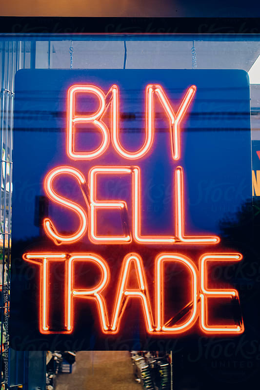 Buy.Sell.Trade by Raymond Forbes LLC for Stocksy United