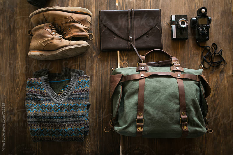 Traveler's outfit by Milles Studio for Stocksy United