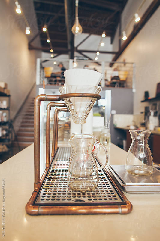 Gourmet Filter Coffee Setup by VISUALSPECTRUM for Stocksy United