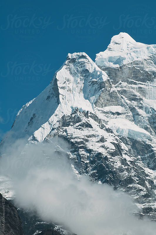 Snow Capped Ridge, Himalayas by WAA for Stocksy United