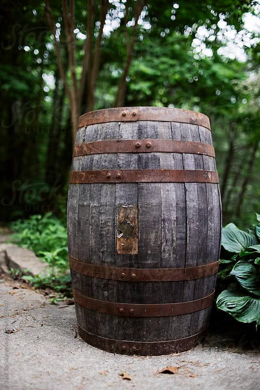 Old Wooden Barrel by Jack Sorokin for Stocksy United