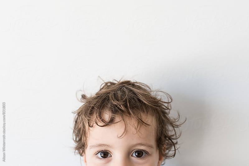 Half A Child's Face by Alison Winterroth for Stocksy United