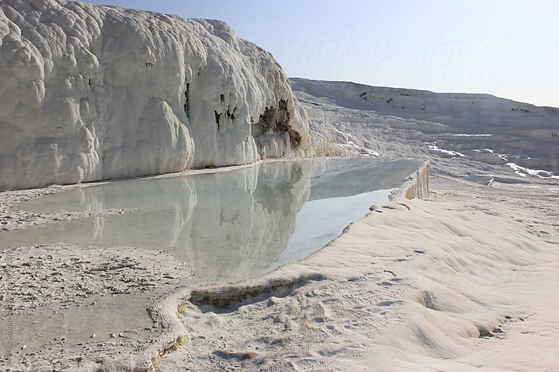Travertine terraces of Pamukkale by Milles Studio for Stocksy United