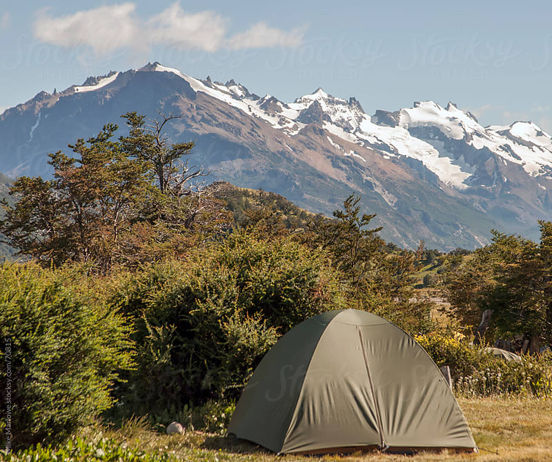 A tent in the wilderness. by Mike Marlowe for Stocksy United