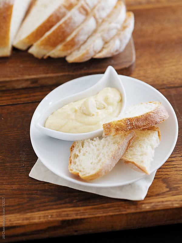 Italian Bread and Fondata by Jill Chen for Stocksy United