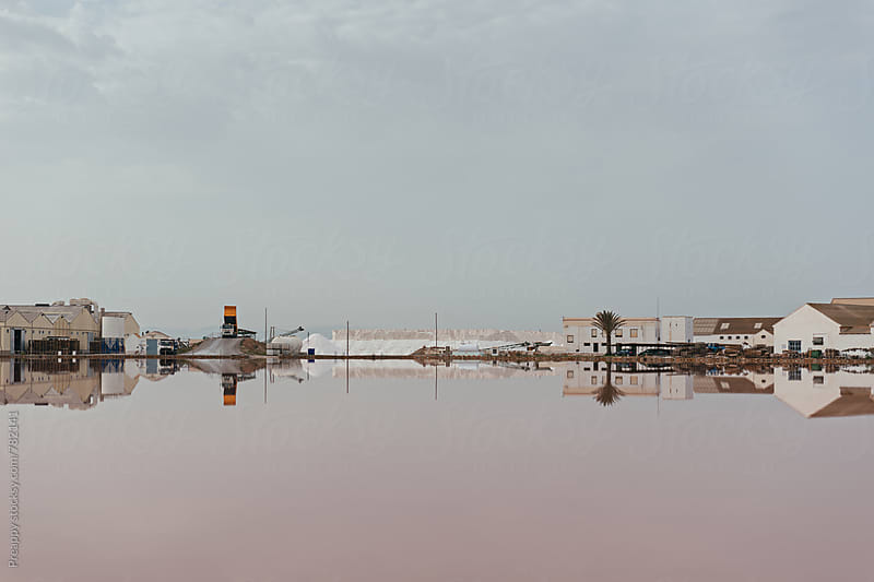 San Pedro del Pinatar Saltworks, Murcia, Spain by Preappy for Stocksy United
